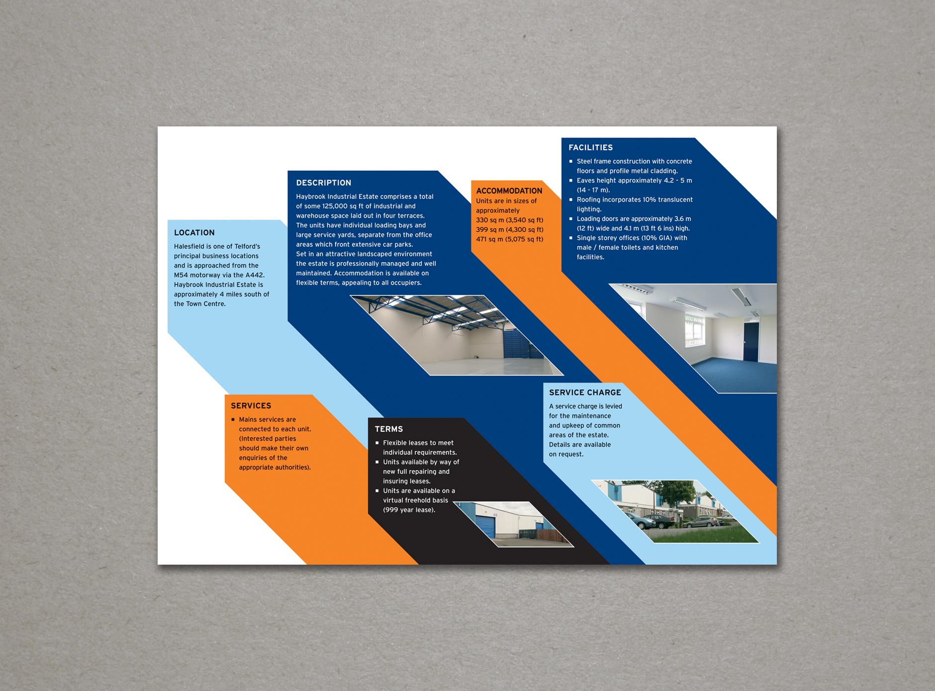 Haybrook design for print