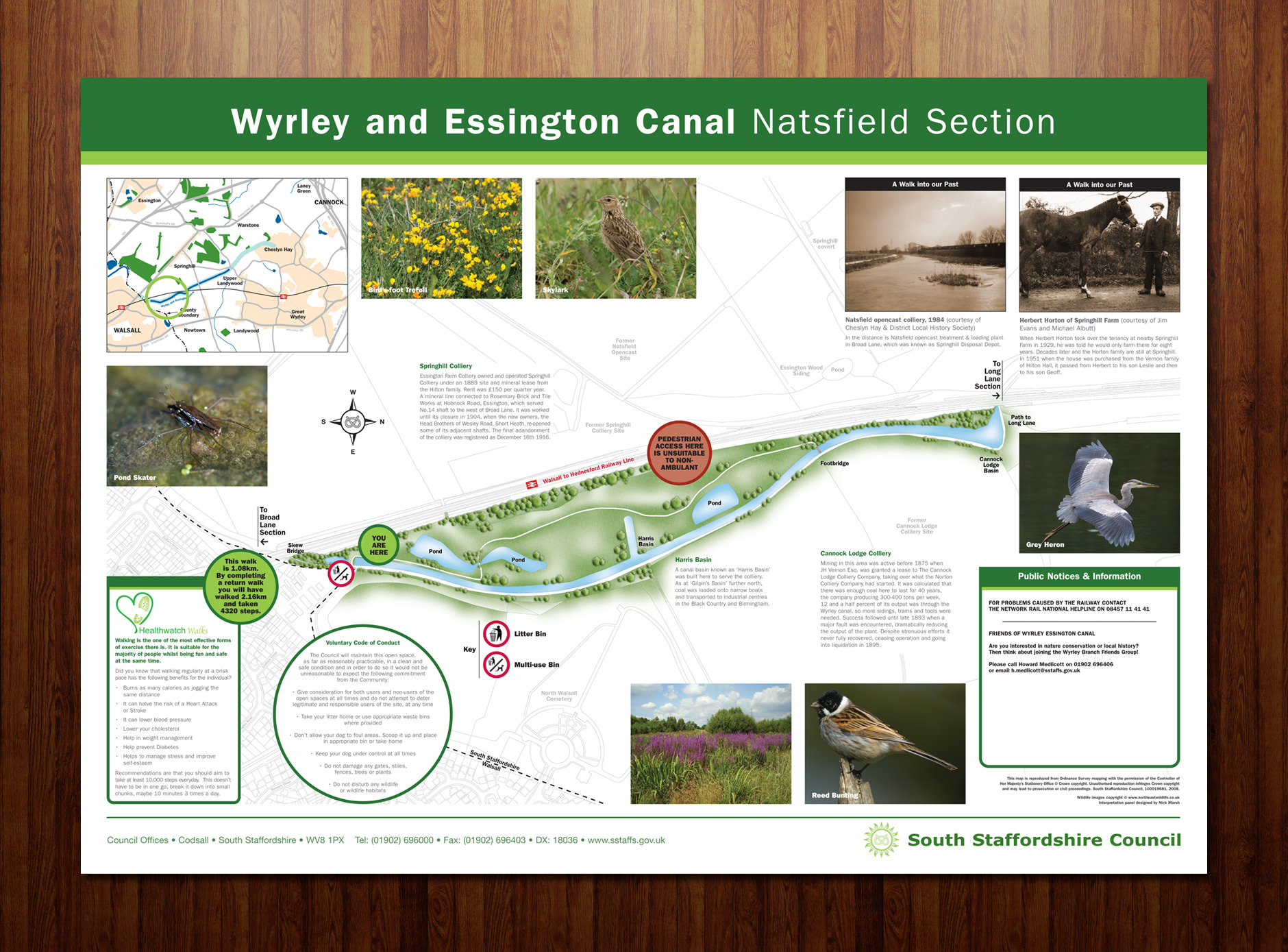 Open Space interpretation panels