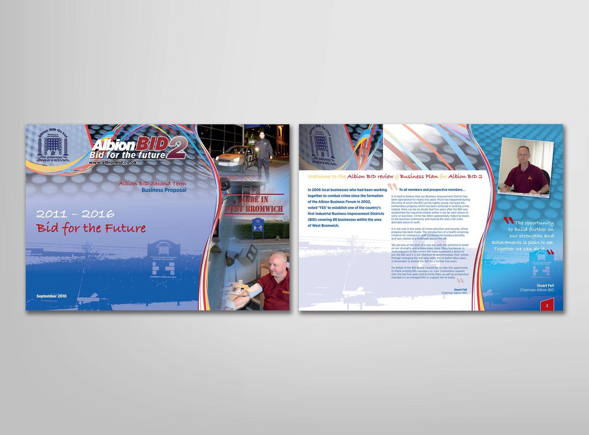 Albion BID design for print
