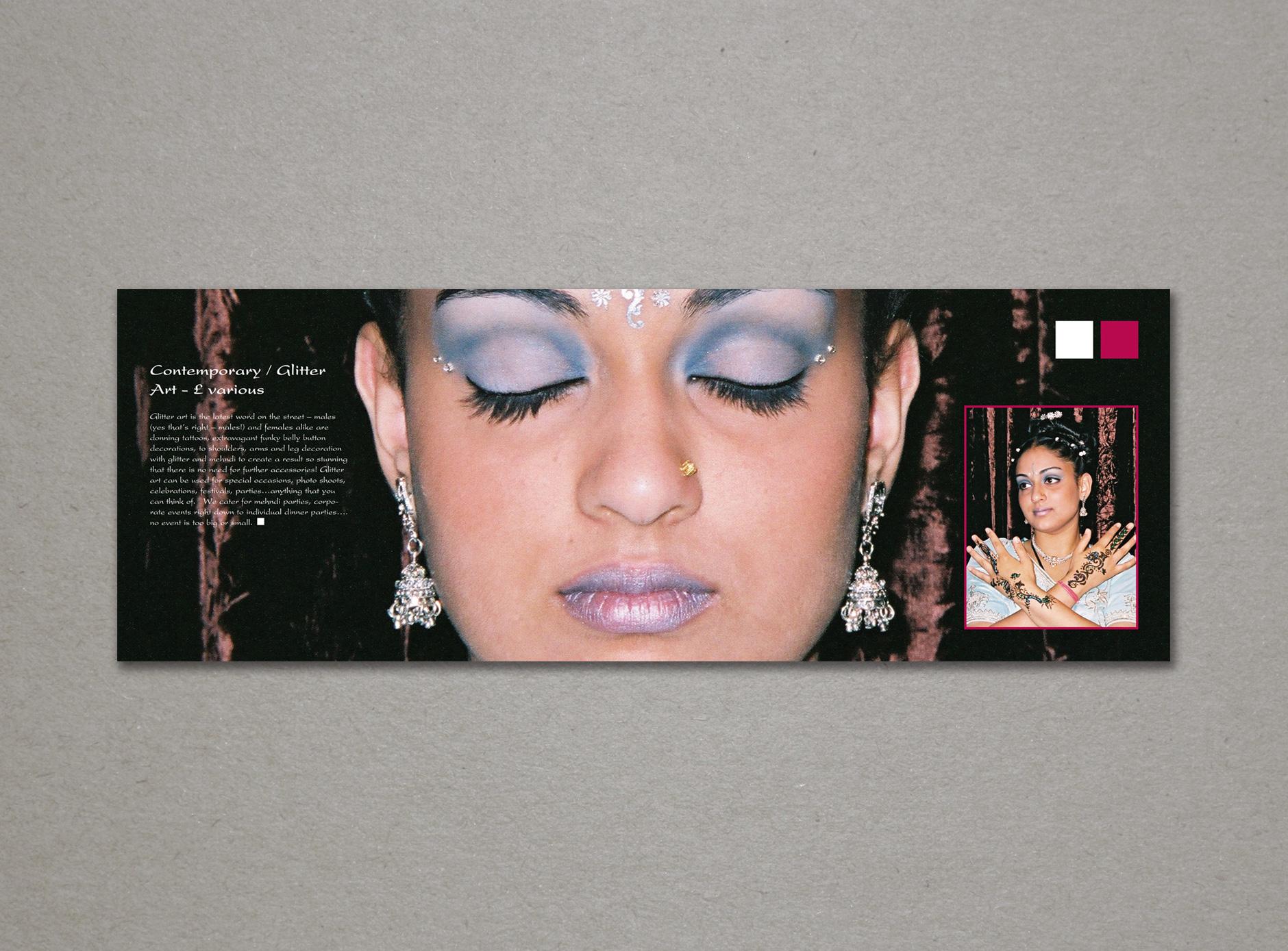 OM Bridal & Beauty design for print