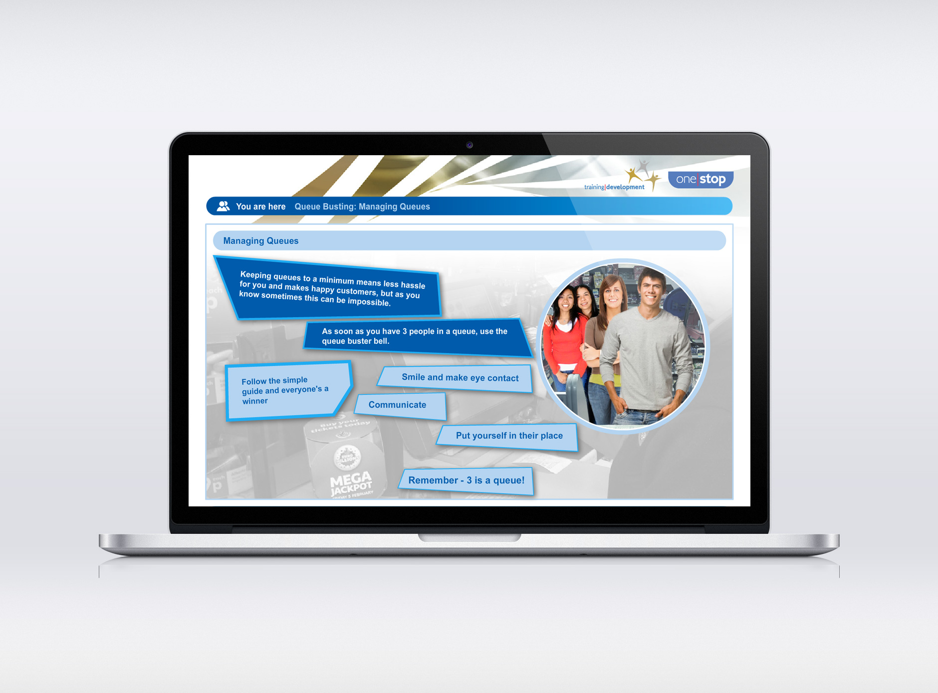 One Stop eLearning application