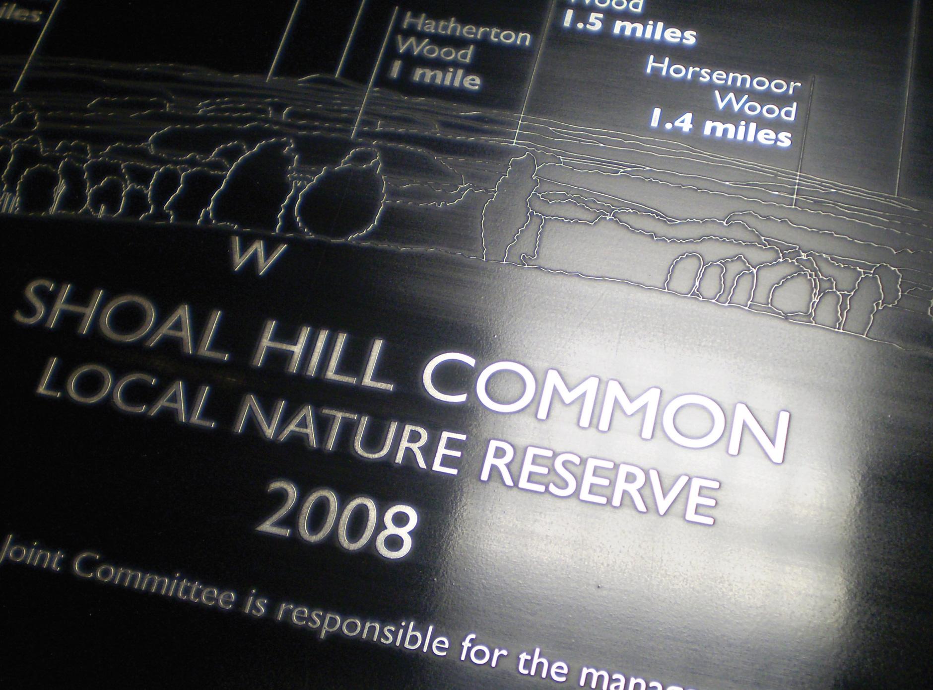 Shoal Hill Common toposcope